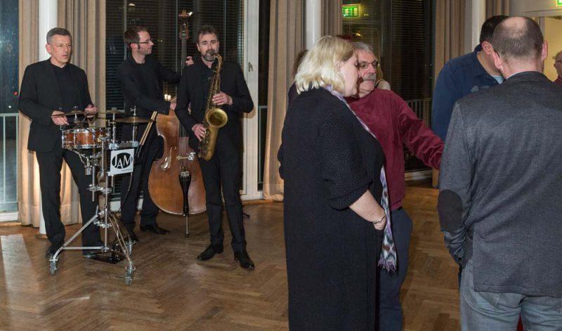 JAM | jazz.akustisch.mobil bei einem Kundenevent in Düsseldorf