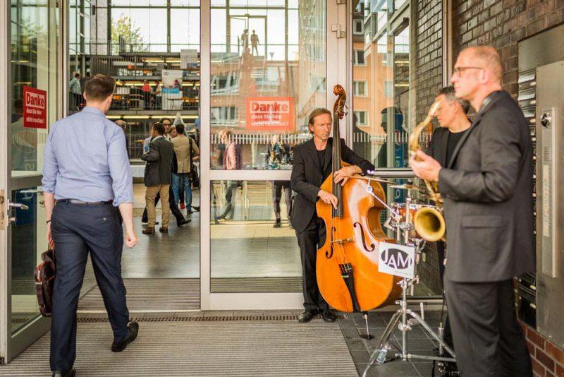 JAM | jazz.akustisch.mobil bei einem Kongress in Bochum