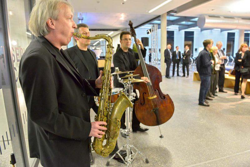 JAM | jazz.akustisch.mobil bei einer Absolventenveranstaltung in Herne